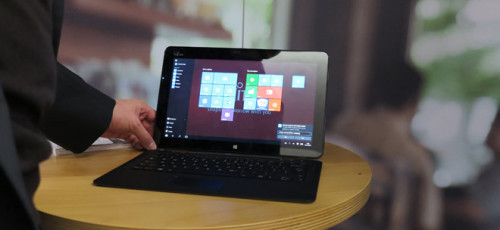 Productiviteit 'anywhere, anyplace' met hybride device
